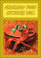 Japanese Food Jewelry Box by querulousArtisan