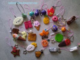 PhoneCharms 2nd lot by RadiumIridium