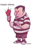 Pugsley: Addams Family by Kravenous