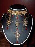 Chainmaille and Filigree by DesireeMorte