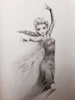 Elsa from Frozen (Completed) by Samscrapbook