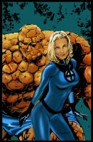 FANTASTIC FOUR color by DaneRot