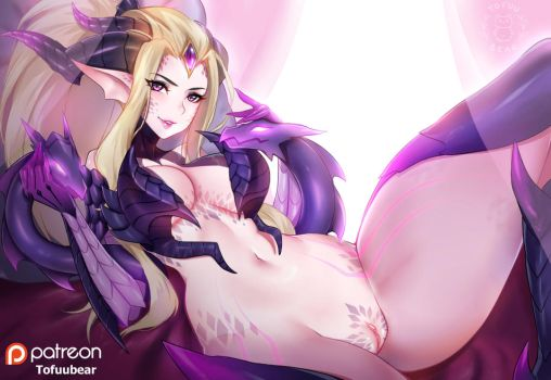Dragon Sorceress Zyra by tofuubear