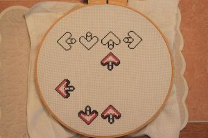 DDR Cross Stitch by moonprincessluna