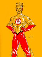 Titanic Four: Kid Flash by micQuestion