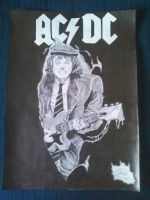 Angus Young, AC/DC by GustavoHRG