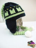 Noiz Hat from DRAMAtical Murder by melibusla