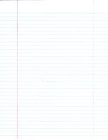 Notebook Paper Plain by FairyFindings