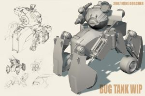 Bug Tank Progress Shot by MikeDoscher