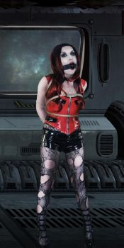 Gagged and Bound by Animal-Restrained