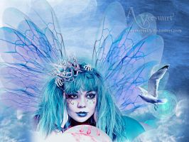Bleu Angel by annemaria48