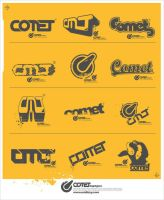 comet logotypes by DJ-Vocuz