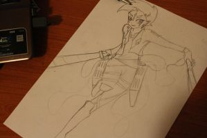 Shingeki no Astral WIP by LadyDragneel
