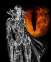 Dark Lord Aragorn by MirachRavaia