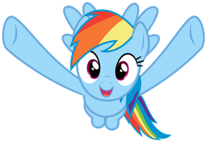 Rainbow Dash wants to hug you by thatguy1945