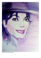 purple fedora Michael by HitomiOsanai