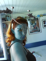 Midna Cosplay Test 1: Head by Taneja
