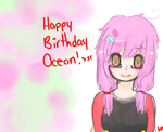 Happy Birthday Ocean ~ by HaileyPie