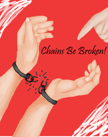 Chains Be Broken Colored by jesusismybestie