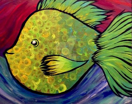 FishBubble Fish by trossidevil