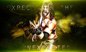Seth Rollins - Expect The Unexpected by cmpunkster
