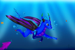 Beautiful Underwater World AT by TheDragonCat