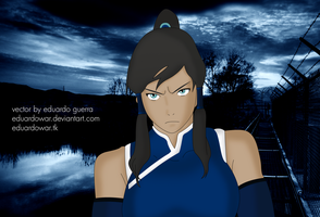 Korra Book 2 Spirits Vector by eduardowar