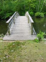 Brige over Pond Stock 4 by FairieGoodMother