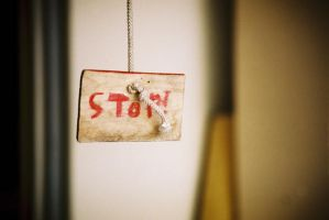 Stop. by Trianglis