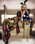 .:Mileena and Marie Rose:. by XxNemmieSpardaxX