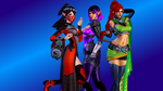 Paladins (3 - Cassie, Ying and Skye) by AdeptusInfinitus