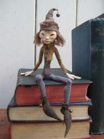 Cornish Pixie / Shelf Elf by FurtherShore