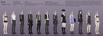 Song Profile Part 2 Outfits by King-Komonasho