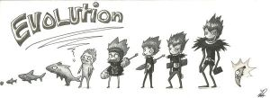 EVOLUTION :D by EsPa-64