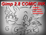 Gimp Comic Ink by SirWillPerkins