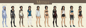 DC:YJ - Isis::Medjai Outfits by Adraowen