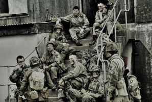 Band of Bros D Company by BenjH