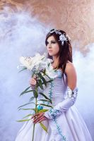 The White Lily by GarnetTilAlexandros