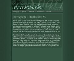 Sharkwork.net v2 experiment by kabir-dc