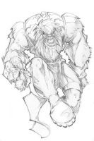 SKETCH......and the Beast by rantz