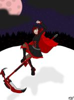 RWBY-Ruby Rose by BloodySoldier007