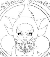 Line art: Prince Ralis by Lady-of-Link
