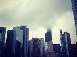 Rainy Day in Chicago 03 by stephanieleighh