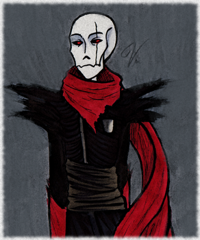 The great and terrible Papyrus [AU-Challenge P1] by VanGold