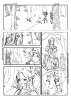 DAO fancomic attempt 1 sketch by Geirahod