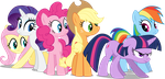 M6 - Group Shot - Canterlot Wedding by Starnight5
