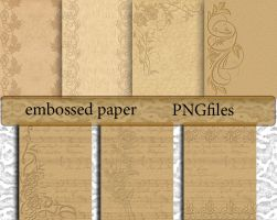 Embossed Paper 1 by roula33