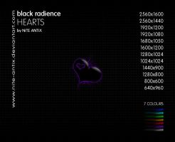 Black Radience Hearts by NiTE-ANTiX