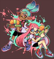 SPLATSPLAT by TheQuietDummy