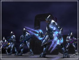 Halo 2 Elites by ubald007
